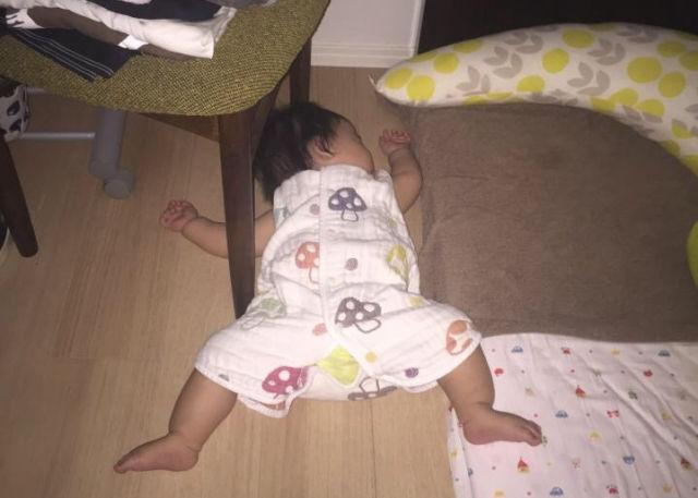 子供-寝相
