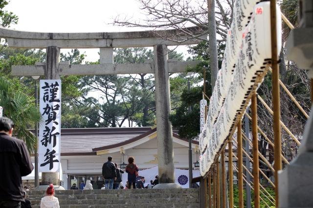初詣−神社