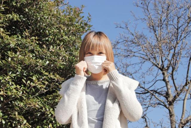 花粉症-マスク