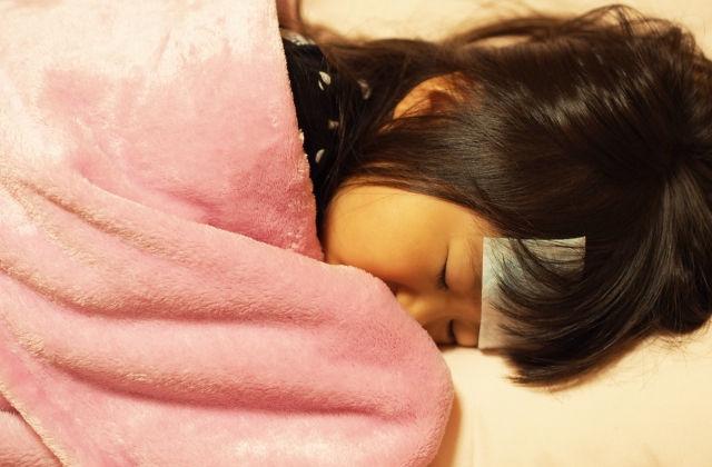 子供が風邪ひいてお休み