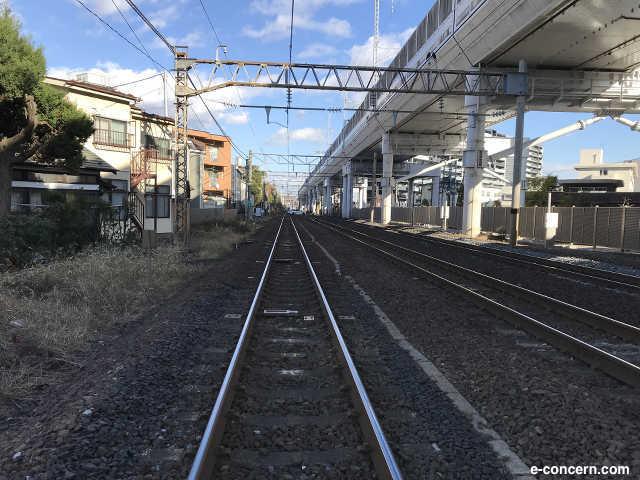 線路沿い - 風景